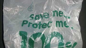 No to Biodegradable Plastic Bags