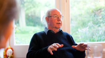 Walt Patterson visits MHSGroup